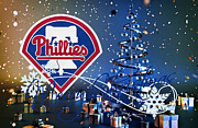 Glove Prints - Philadelphia Phillies Print by Joe Hamilton