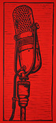 Linocut Posters - Rca 77 Poster by William Cauthern
