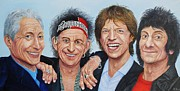 Rolling Stones Originals - Rolling Stones by Christian Carrette