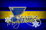Captain Posters - St Louis Blues Poster by Joe Hamilton