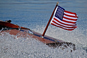 Mahogany Red Photo Prints - Stars and Stripes Print by Steven Lapkin