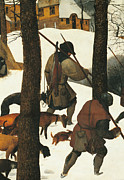 The Hunters In The Snow, By Pieter Print by Pieter the Elder Bruegel