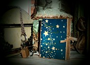 Handcrafted Art - Tiny magic book by Donatella Muggianu