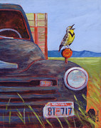 Meadowlark Paintings - 8-Tweet by Jess Rice