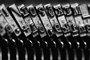 Typewriter Keys Photo Prints - Typewriter Keys Print by Falko Follert