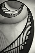 Spiral Staircase Metal Prints - Untitled Metal Print by Greg Ahrens