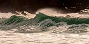 Waves Print by Barbara Walsh