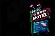 8 Mile Prints - 8 Wood Motel Print by Eliza Ollinger