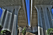 Interstates Prints - 805 Freeway Print by Craig Carter