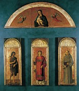 New Martyr Framed Prints - Italy, Veneto, Venice, Accademia Art Framed Print by Everett