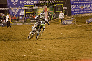 Supercross Framed Prints - 8736 Framed Print by Daniel  Knighton