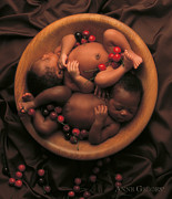 Bowl Photo Framed Prints - Untitled Framed Print by Anne Geddes