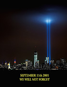 Nj Photos - 9/11 Tribute by Nick Zelinsky