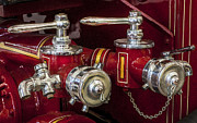 Fire Department Photos - 1915 LaFrance Fire Engine  by Rich Franco