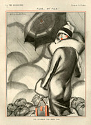 Jacques Drawings - 1920s France La Vie Parisienne by The Advertising Archives