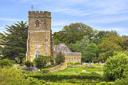 Parish Church Framed Prints - Abbotsbury Framed Print by Joana Kruse