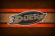 Skating Posters - Anaheim Ducks Poster by Joe Hamilton