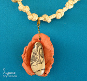 Hand Made Jewelry - Aphrodite Gamelioi Necklace by Augusta Stylianou