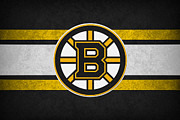 Boston Bruins Posters - Boston Bruins Poster by Joe Hamilton