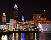 Diverse Prints - Cleveland Ohio Print by Robert Harmon