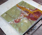 Universities Ceramics - Dark Green Onyx Tiles by Hanam Marble Industries