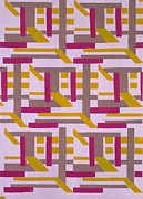 Pattern Drawings Prints - Design from Nouvelles Compositions Decoratives Print by Serge Gladky