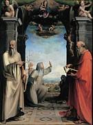Catherine White Framed Prints - Domenico Di Giacomo Di Pace Known Framed Print by Everett