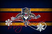 Florida Panthers Print by Joe Hamilton