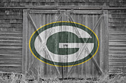 Offense Framed Prints - Green Bay Packers Framed Print by Joe Hamilton