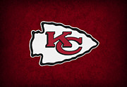 Offense Metal Prints - Kansas City Chiefs Metal Print by Joe Hamilton