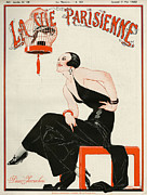 20Õs  Prints - La Vie Parisienne  1922 1920s France Print by The Advertising Archives