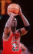 Michael Photos - Michael Jordan Poster by Sanely Great