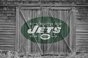 New York Posters - New York Jets Poster by Joe Hamilton