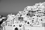 Santorini Photos - Oia town  by George Atsametakis