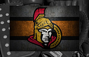 Captain Posters - Ottawa Senators Poster by Joe Hamilton