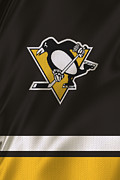 Hockey Sweater Framed Prints - Pittsburgh Penguins Framed Print by Joe Hamilton