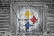 Barn Doors Art - Pittsburgh Steelers by Joe Hamilton