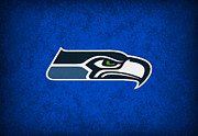 Seattle Posters - Seattle Seahawks Poster by Joe Hamilton
