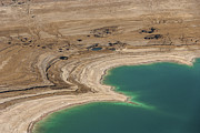 Sink Hole Photos - Sinkholes In Northern Dead Sea Area by Ofir Ben Tov
