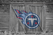 Nfl Framed Prints - Tennessee Titans Framed Print by Joe Hamilton