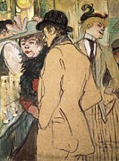 1901 Prints - Toulouse-lautrec, Henri De 1864-1901 Print by Everett