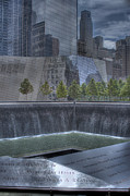 The Twin Towers Of The World Trade Center Prints - 911 Memorial Print by Jon Groves