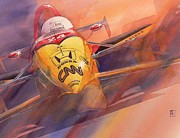 Indy Car Art - 95 Winner by Robert Hooper