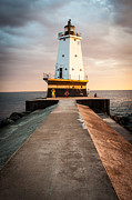 D700 Art - 9650 Ludington Lighthouse by Thomas Detert
