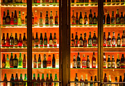 Bottled Photo Prints - 99 Bottles of Beer on the Wall Print by Semmick Photo