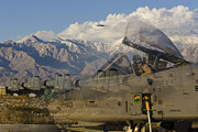 Air Force Print Art - A-10s at Bagram by Tim Grams