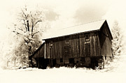 Underground Railroad Prints - A barn of old Print by Paul W Faust -  Impressions of Light
