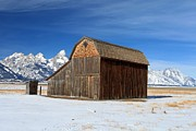 Most Photo Framed Prints - A Barn With A View Framed Print by Adam Jewell