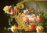 Sonia P - A basket of Flowers