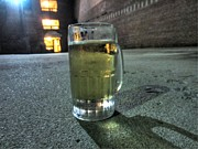 Beer Photo Originals - A Beer Mug in an Alley  by Robert Loe